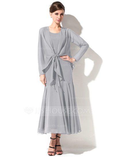 Wadenlange kleider fur brautmutter