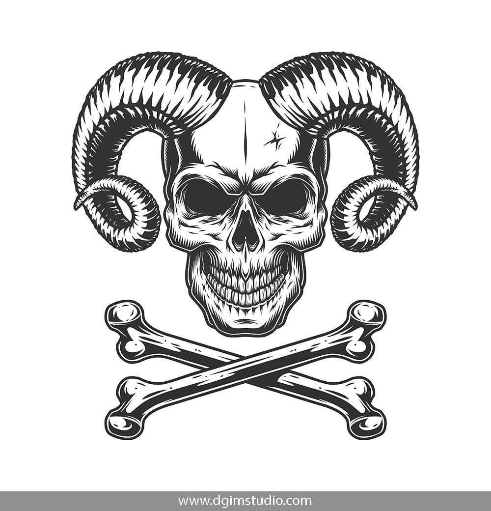 Demons Emblems Collection Black And Grey Tattoos