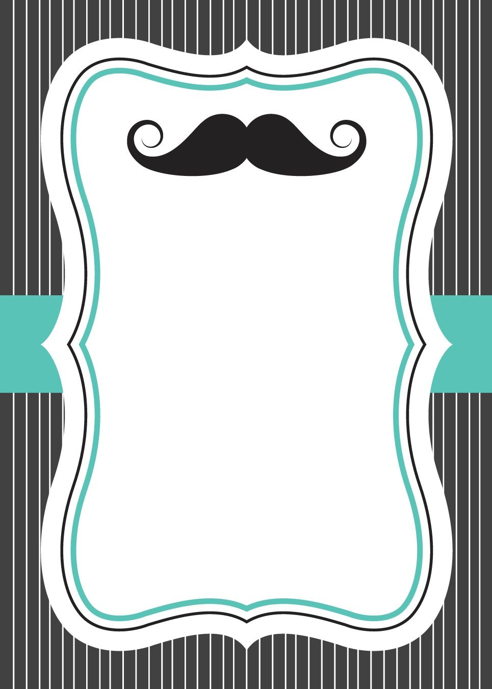 Little Man Baby Shower Invitation Invitaciones De Bigote
