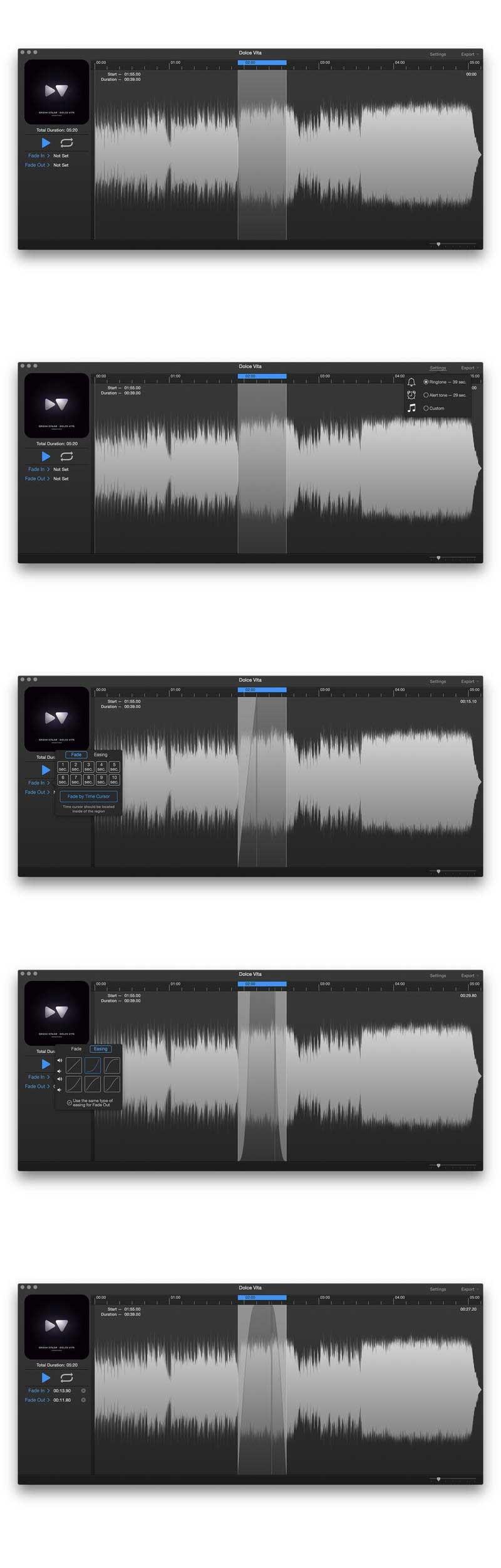i39 1.5 for Mac 破解版 快捷铃声制作软件 海量精品Mac应用下载