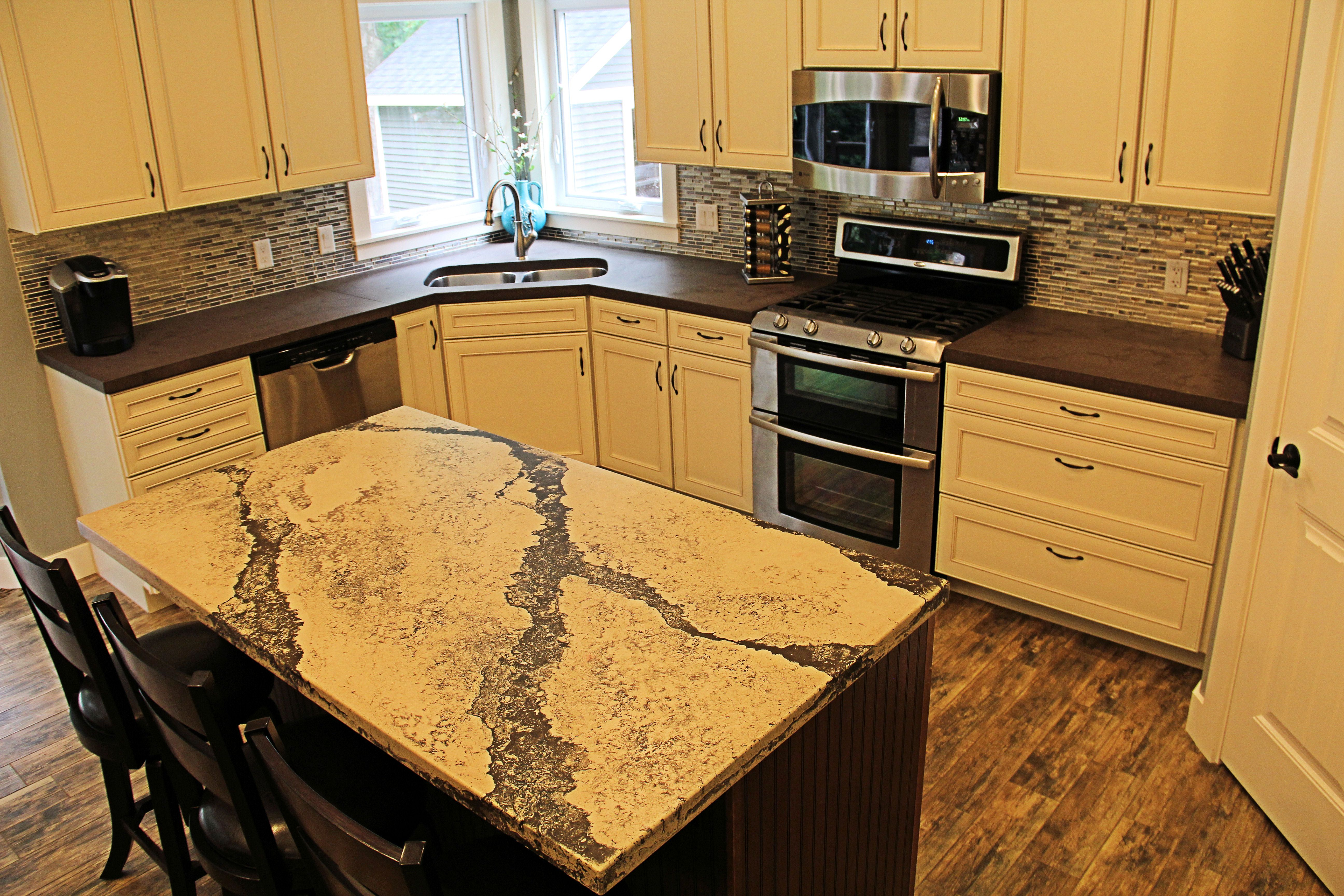 concrete precast countertop screenshot elevated countertops home inspection solutions