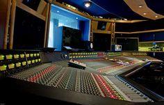 air recording studios - studio two featuring SSL G Series console