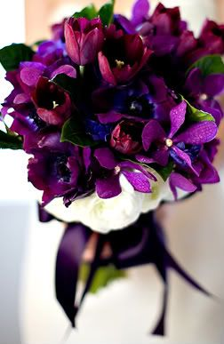 Loving The Purple In This Bouquet Very Lovely Arrangement