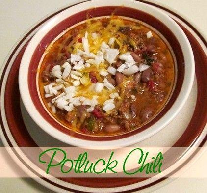 Potluck Chili http://www.momspantrykitchen.com/potluck-chili.html