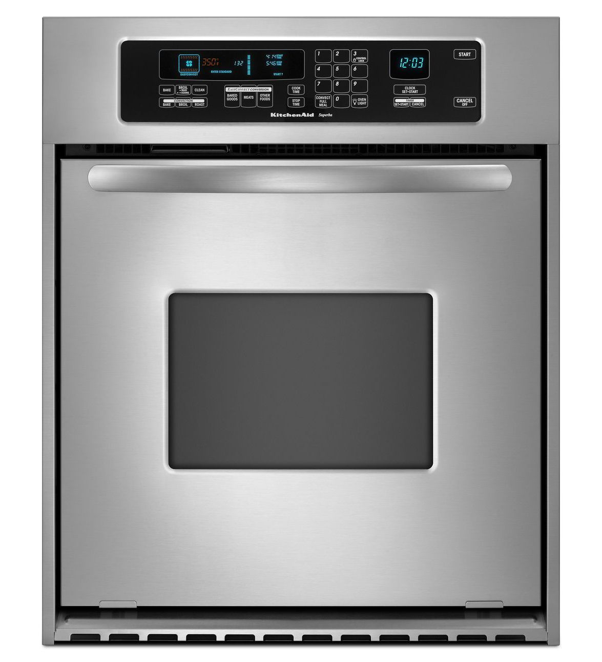 36inch convection single wall oven architect series ii
