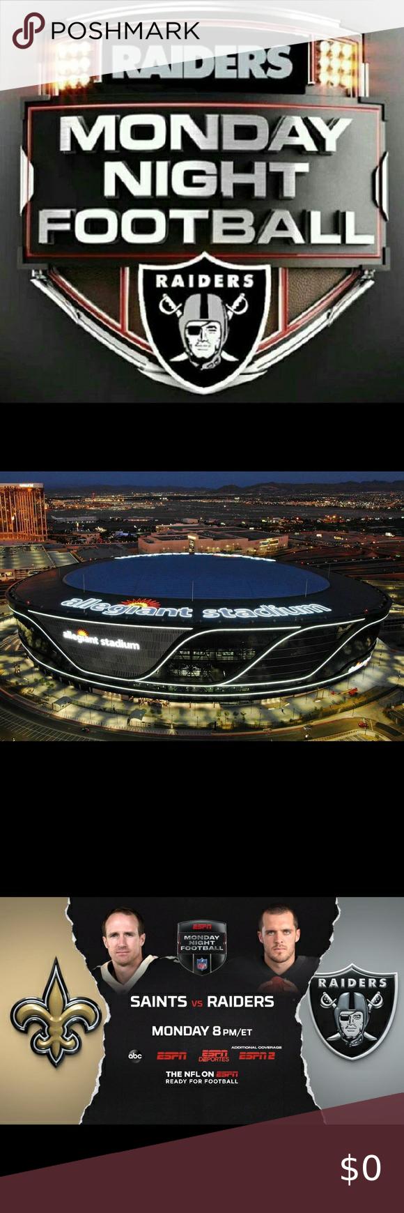 Congratulations Raiders Nfl Monday Night Football Monday Night Football Monday Night Nfl Fans