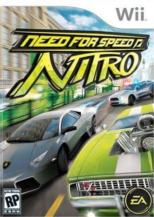 Amazon Com Need For Speed Nitro Nintendo Wii Video Games Nintendo Ds Juegos Retro Videojuegos