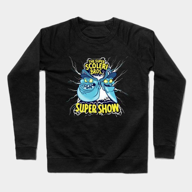 Super Scolari Bros Super Show Crewneck Sweatshirt