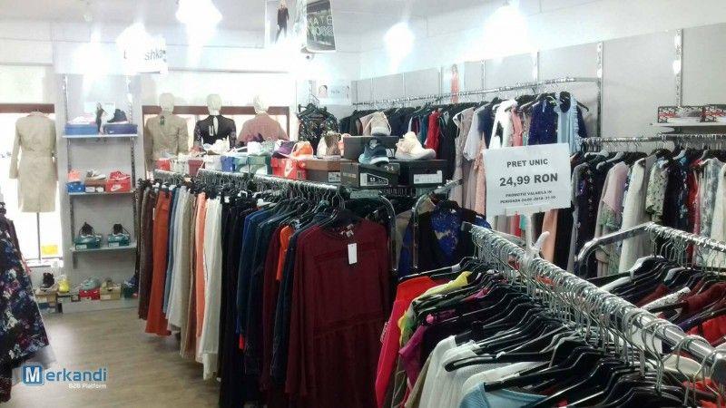 Liquidation du magasin des vêtements Plus d'informations sur