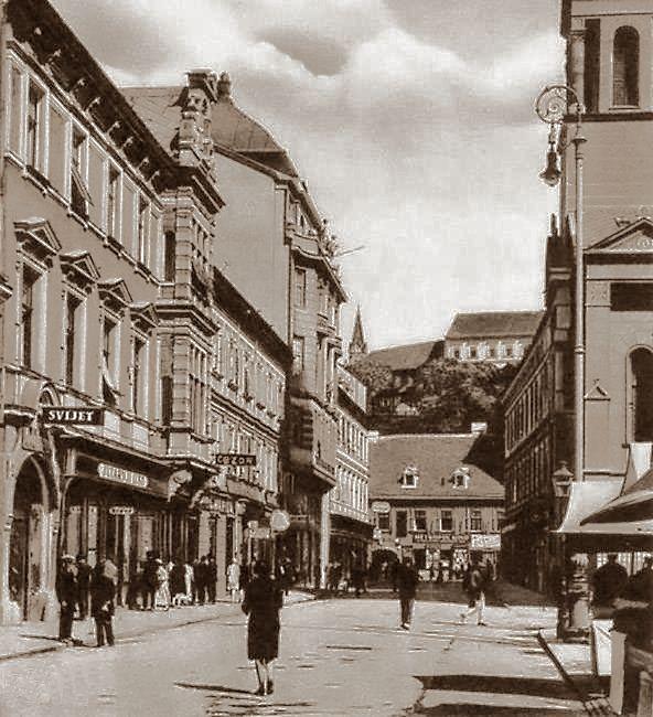 Zagreb 1939 Preobrazenska Zagreb Zagreb Croatia Croatia