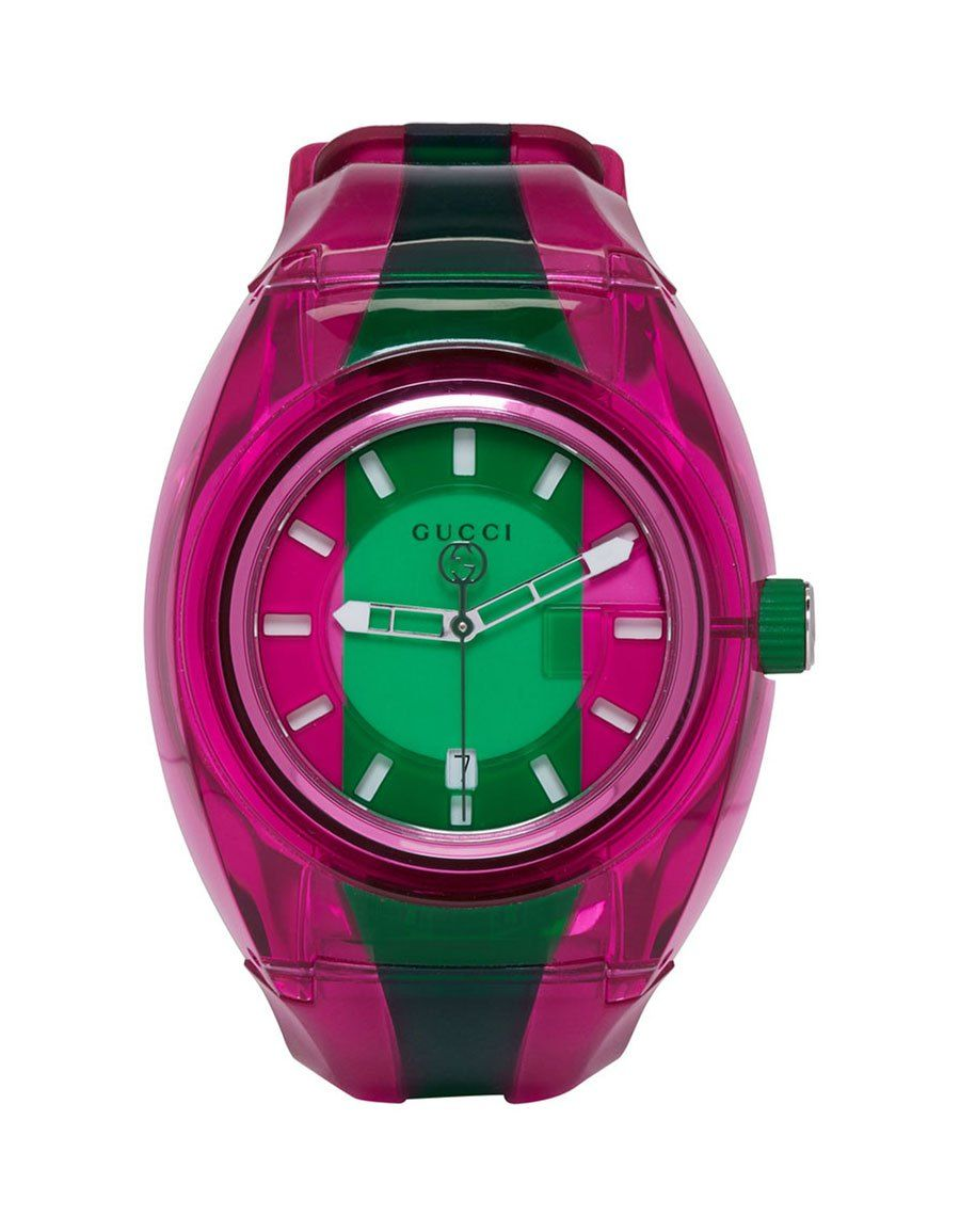 f3824f76688 GUCCI Pink   Green G-Sync Watch in 2019