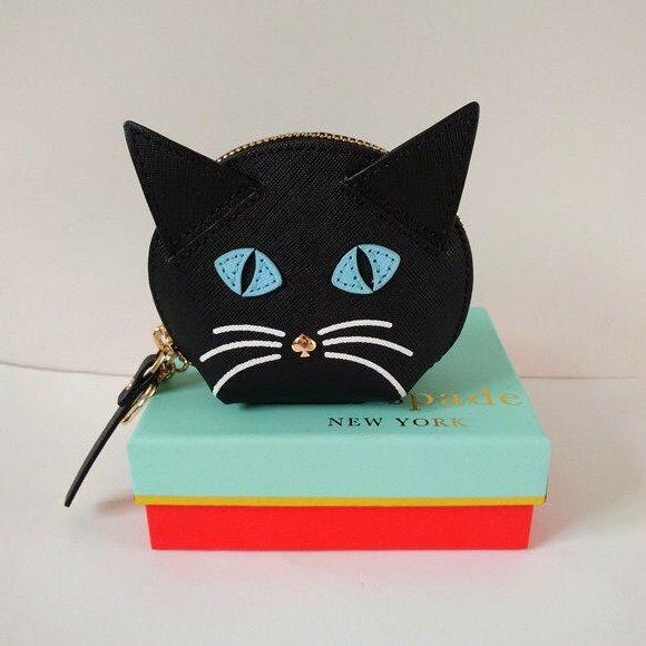 2116dd3b120a Kate spade cat's meow cat coin purse 3.1