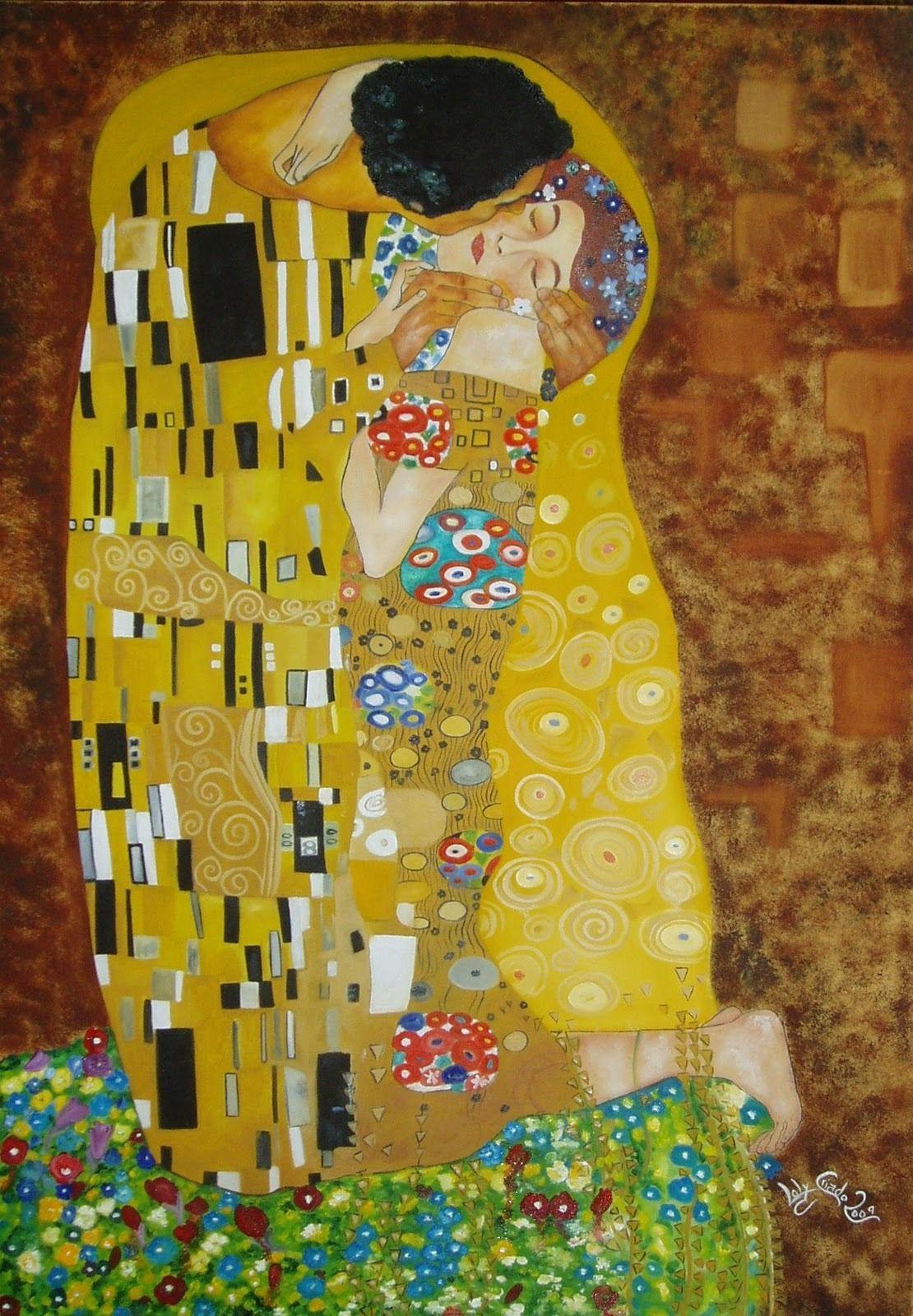 El Beso Gustav Klimt Klimt Pinturas Gustav Klimt Producción Artística