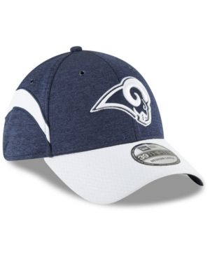 huge discount 5ec88 778c2 New Era Boys  Los Angeles Rams Sideline Home 39THIRTY Cap - Navy White  Toddler
