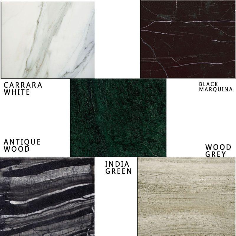 Foto de natural blanco / verde azulejos de mármol de suelo para ...