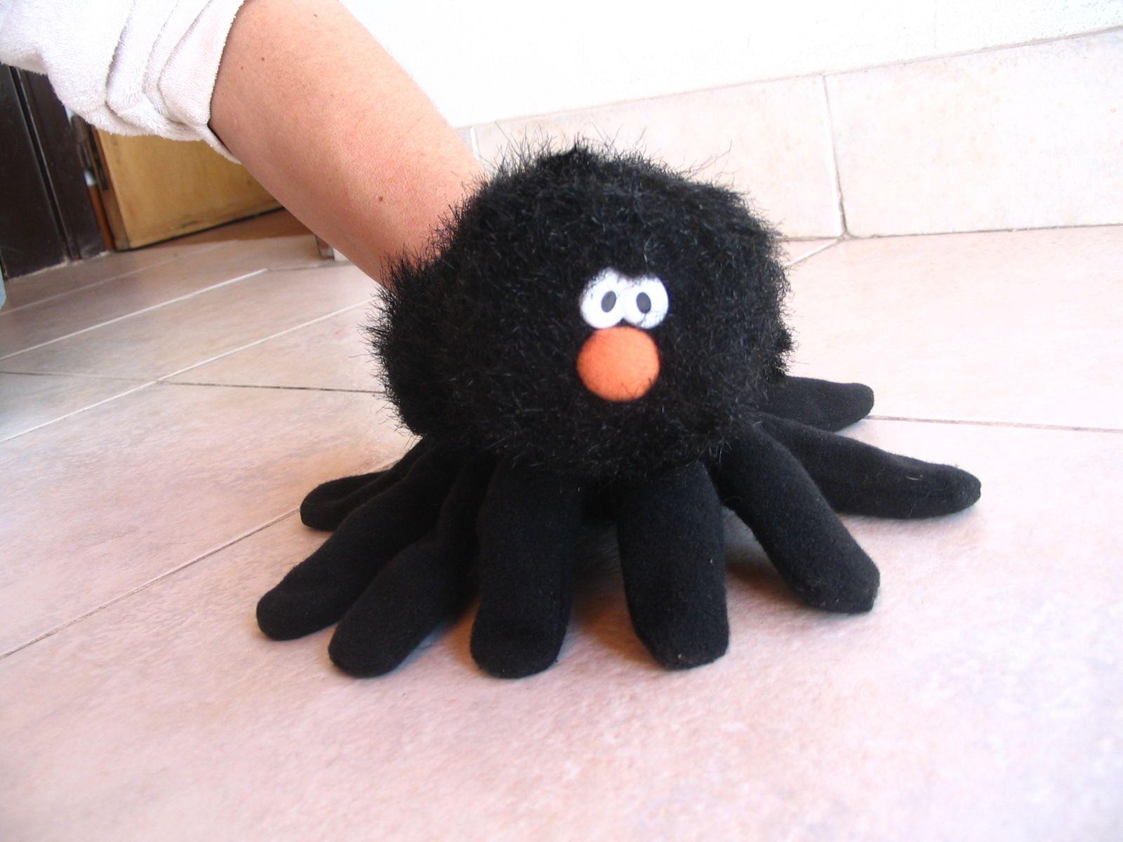 Titere guante t teres pinterest guantes marioneta y - Como hacer marionetas de mano ...