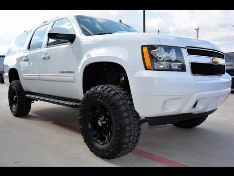 2011 Chevrolet Suburban Ls 1500 4wd Lifted Suv Http Www