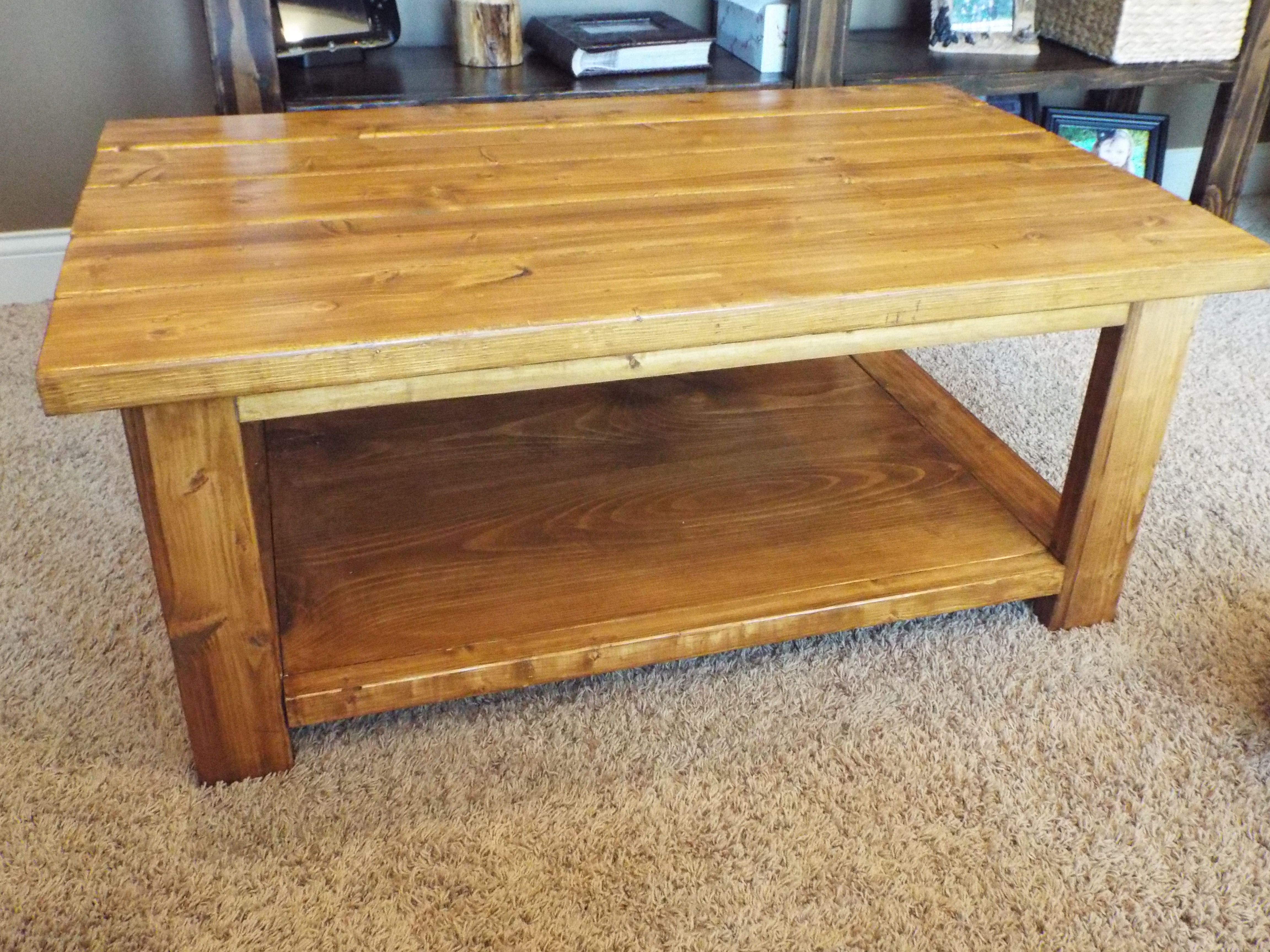 Pine Pineandpaper Pine Coffee Table Coffee Table Plans Coffee Table Wood