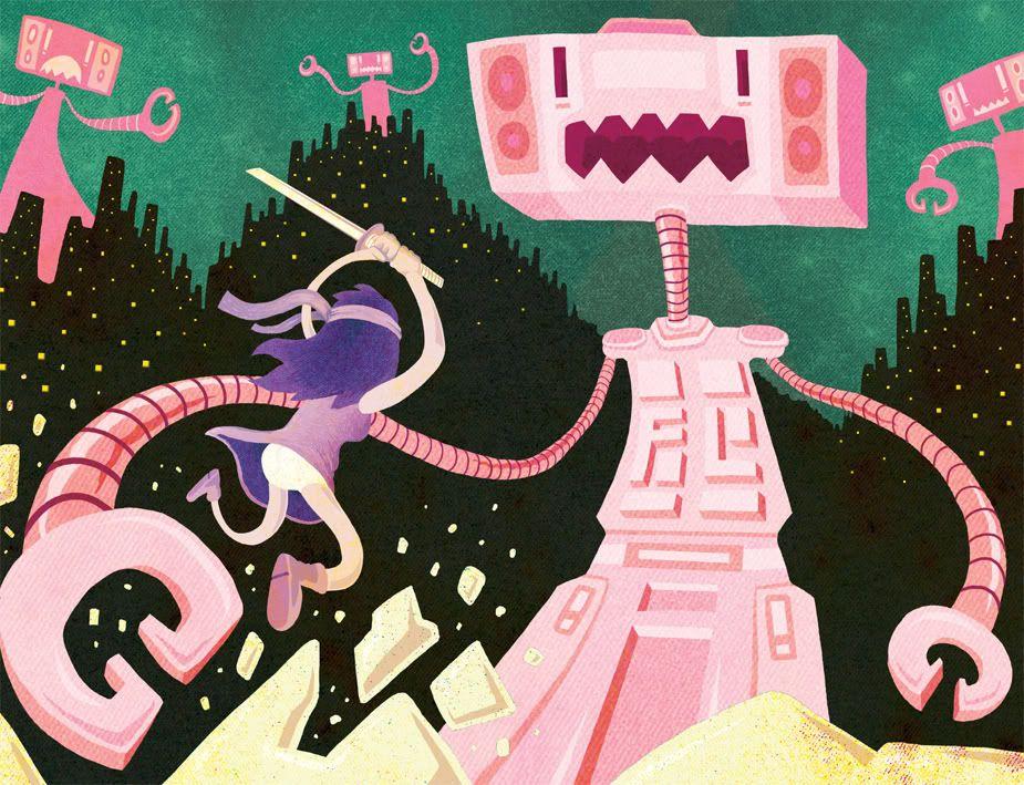Http Img Photobucket Com Albums V62 Earthwormadam Yoshimi Jpg Robot Art Flaming Lips Pink Flamingos
