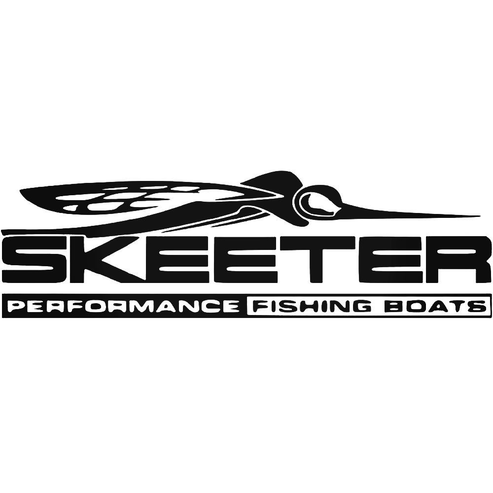 Skeeter Performance Fishing Boats Logo Vinyl Decal Sticker