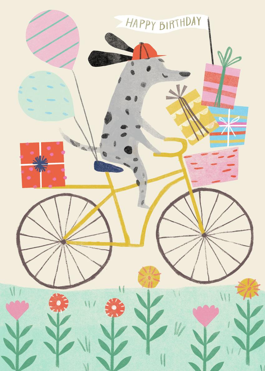 Kathryn Selbert Advocate Art London Marbella New York Birthday Illustration Happy Birthday Cards Birthday Greeting Cards