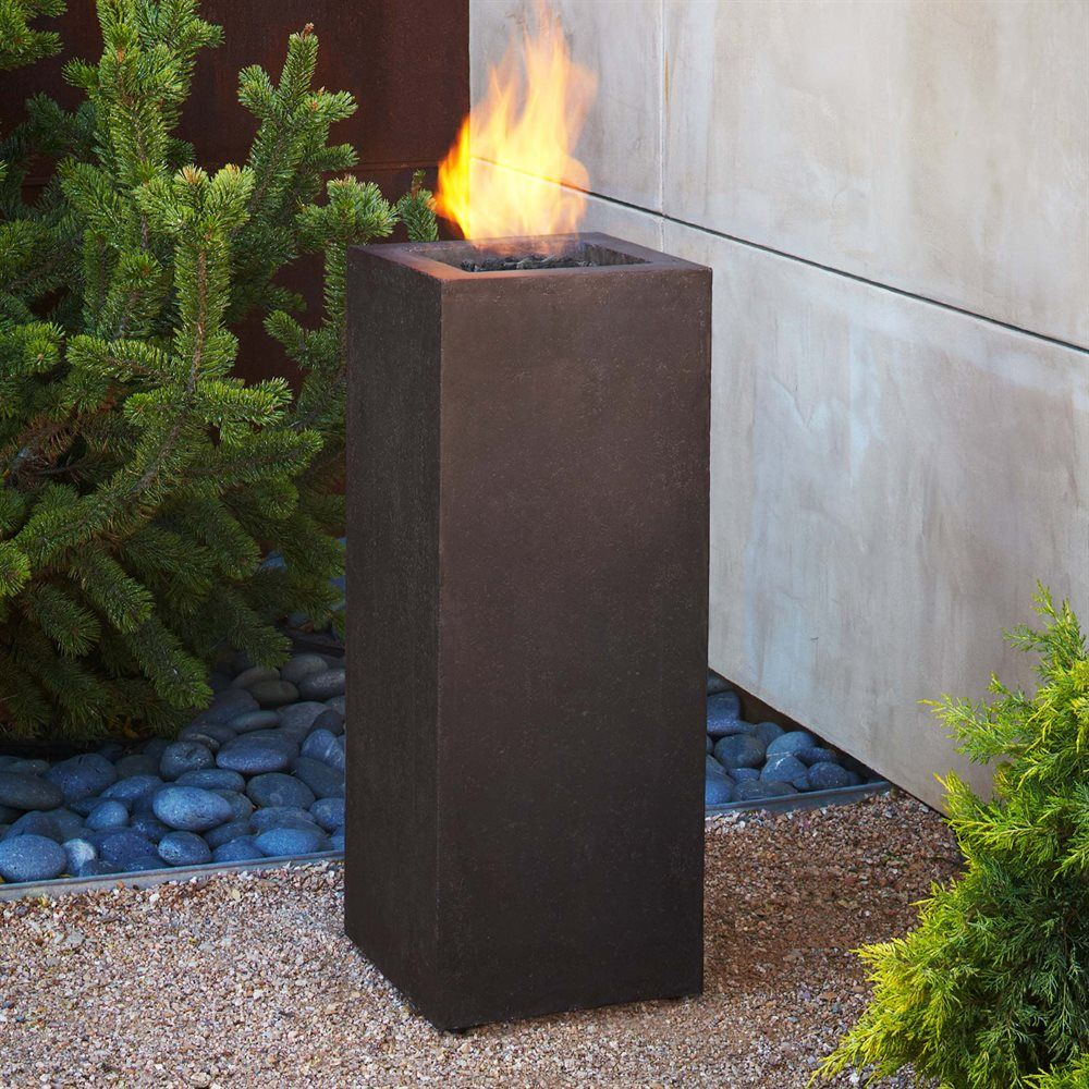 Real flame tlp baltic propane fire column loweus canada