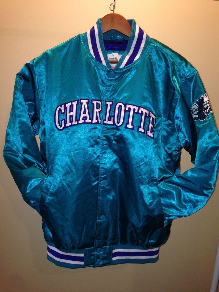 fd90c4f8 NBA Starter Jacket Charlotte Hornets Mens Size XXL #Starter  #CharlotteHornets