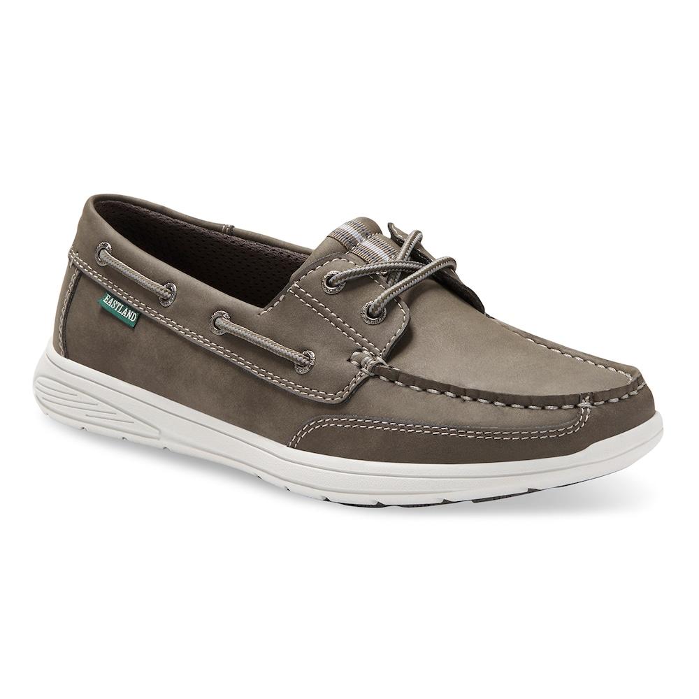 de32067a7 Eastland Benton Men's Boat Shoes, Size: 8 D, Light Grey
