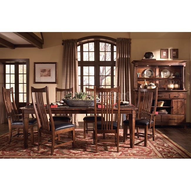 Rosecroft Dining Room Set W Montclair Chairs Kincaid Furniture Furniture Dining Room Set