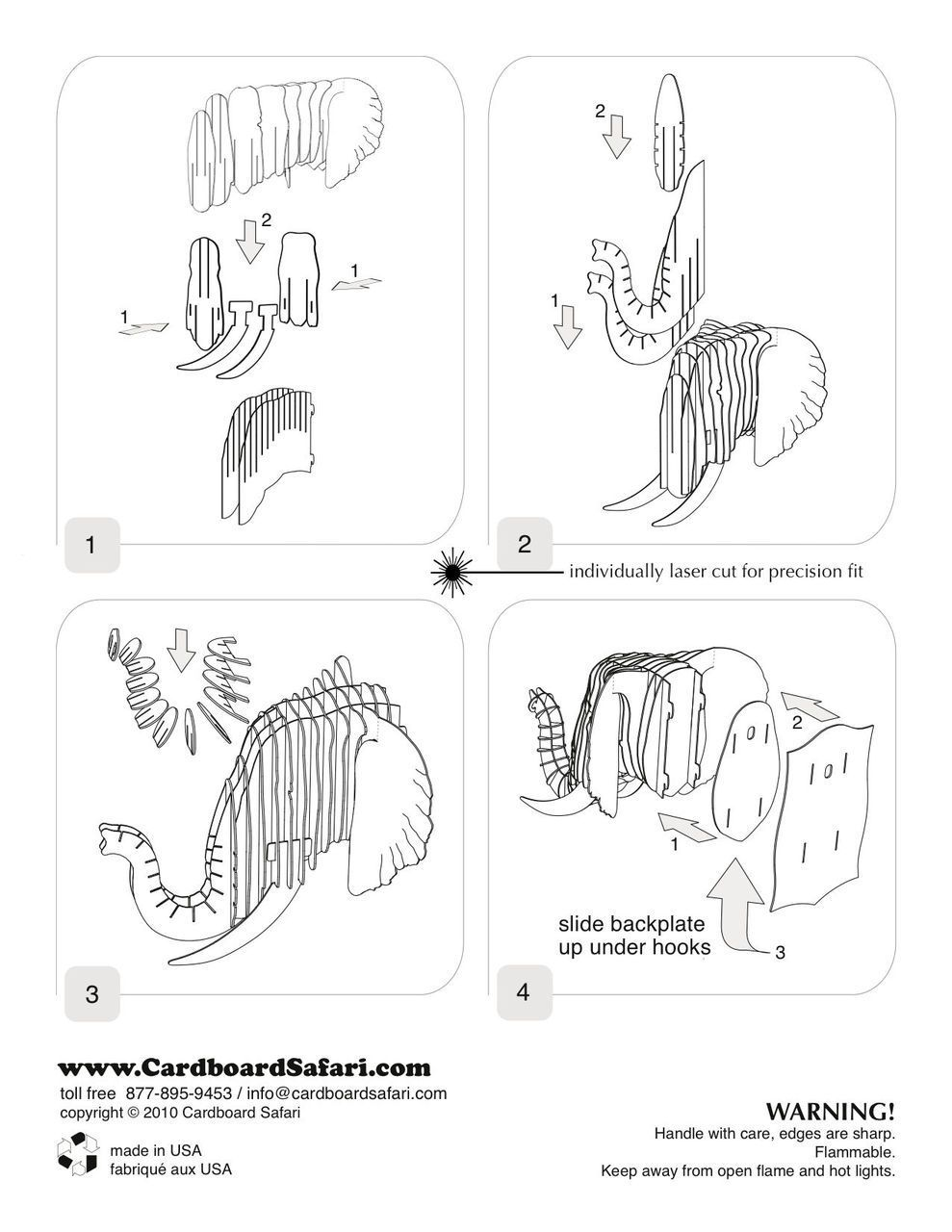 cardboard safari plantillas gratis - Buscar con Google | Proyectos ...