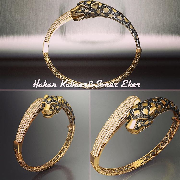 bysonereker byhakankabaer jewelry design gioielli oro bilezik