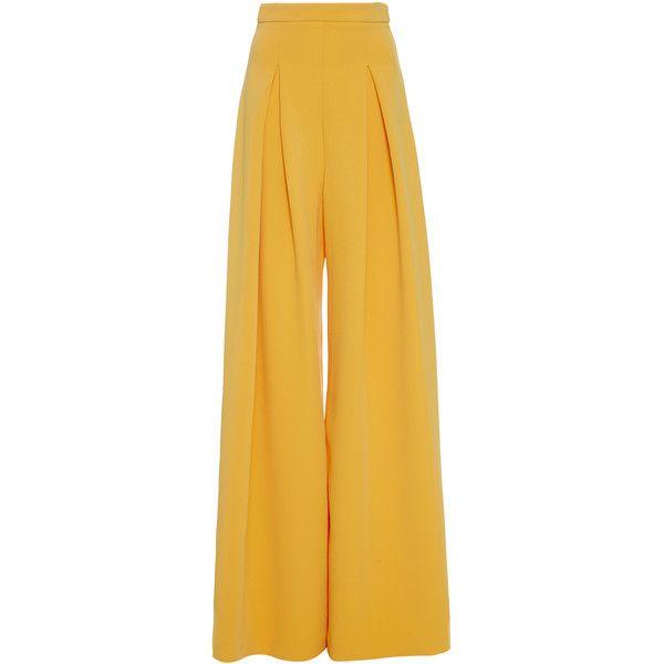 Pantalon Plissé - Avi Jaune Et Orange bFR6mZHPb8