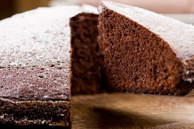 Receita do bolo à base de chá preto