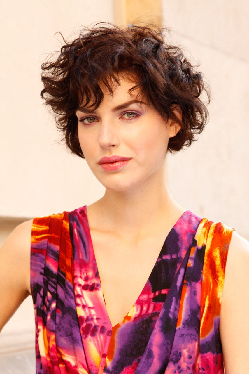 An 80s Fling For Spring Short Wavy Hairstyles For Women