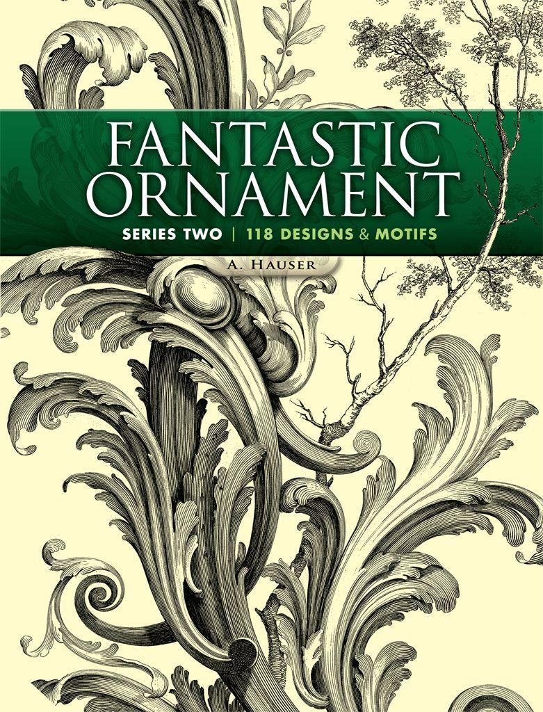 Fantastic Ornament Series Two Archive Books Dover Art Nouveau Design