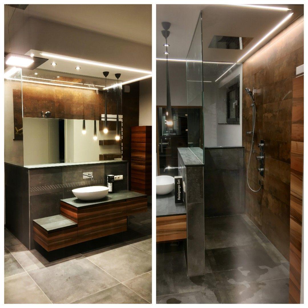 Spiegel Und Glasdusche In Einem In 2020 Glasduschen Badezimmer Inspiration Dusche