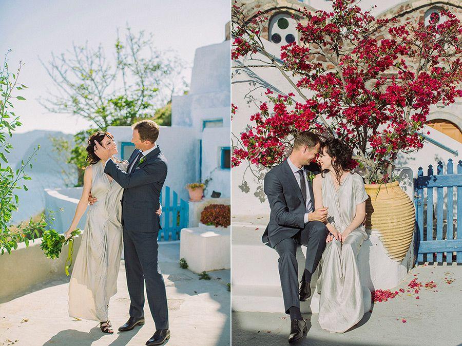Wedding in Santorini Island Greece