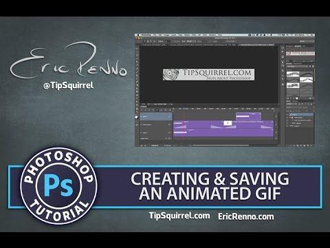 Animasjon (GIF) i Photoshop.