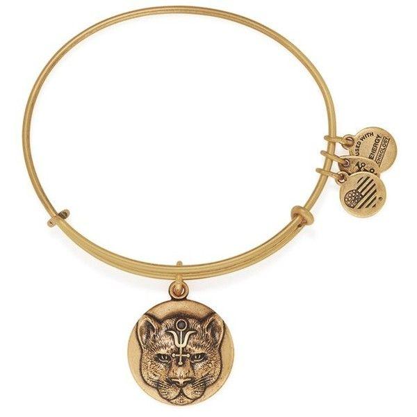 Alex and Ani Wild Heart Expandable Charm Bracelet, Rafaelian Gold-Tone