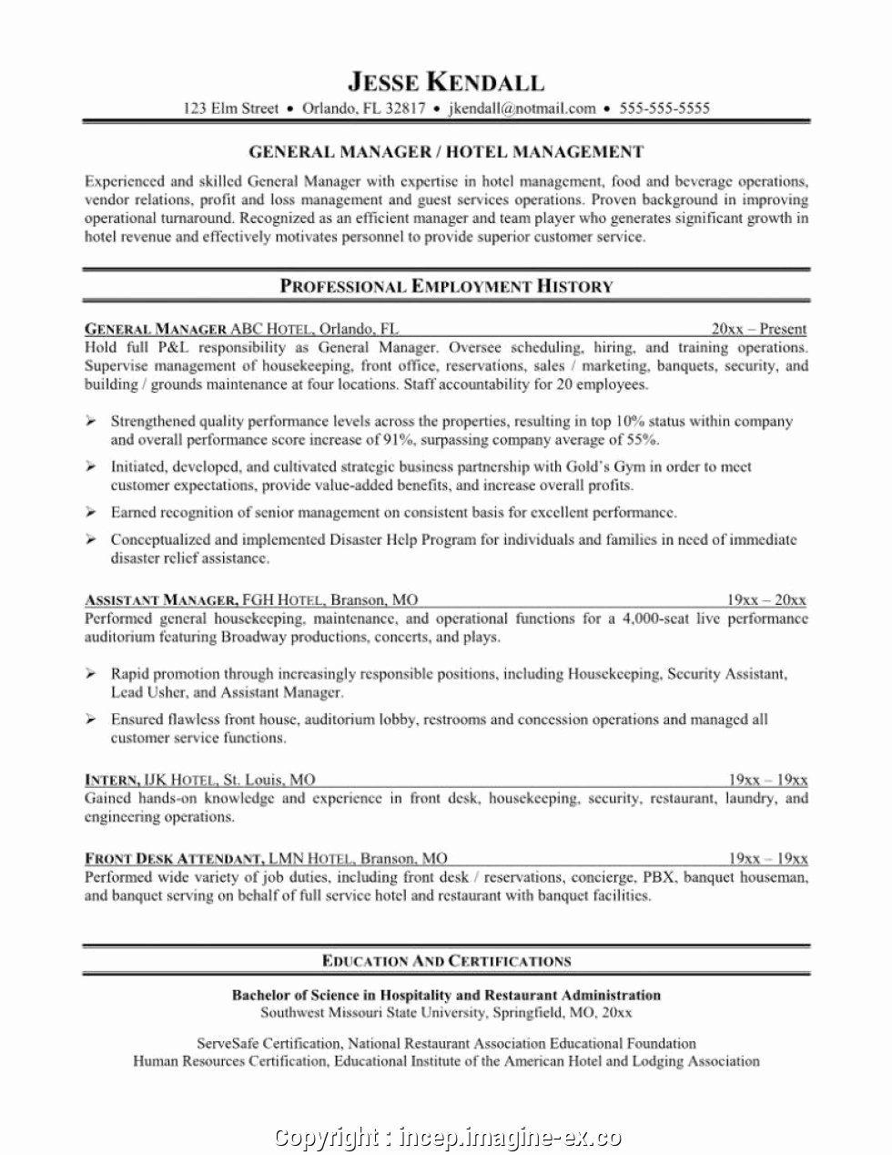 23 Front Desk Job Description Resume in 2020 Manager