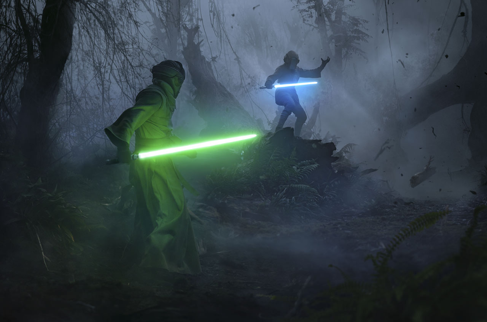 Luke And Leia Training The Rise Of Skywalker In 2020 Star Wars Geek Star Wars Fans Star Wars Wallpaper