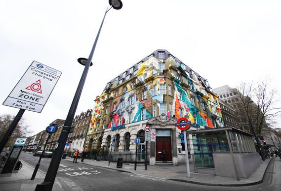 Fresques Par Kofie, Remi Rough, Lx.one, Steve More - Londres (Royaume Uni)