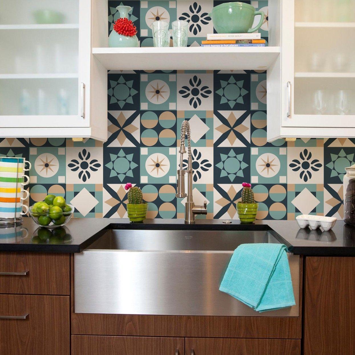 Artesãos Significado ~ Adesivo de Azulejo Adesivo de Azulejo Eightiers Grudado Apartamento Pinterest Adesivo de