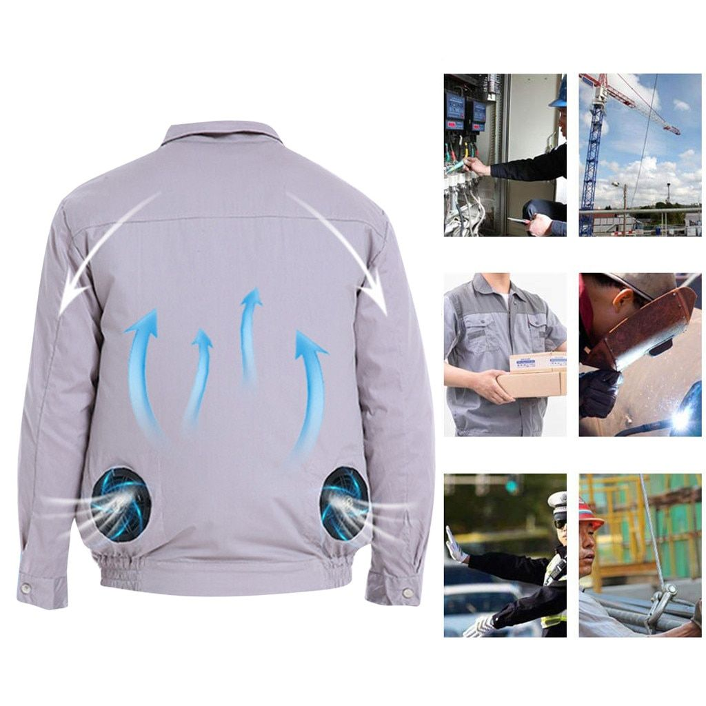 019 Air Conditioning Jacket USB Cooling Conditioned Fan