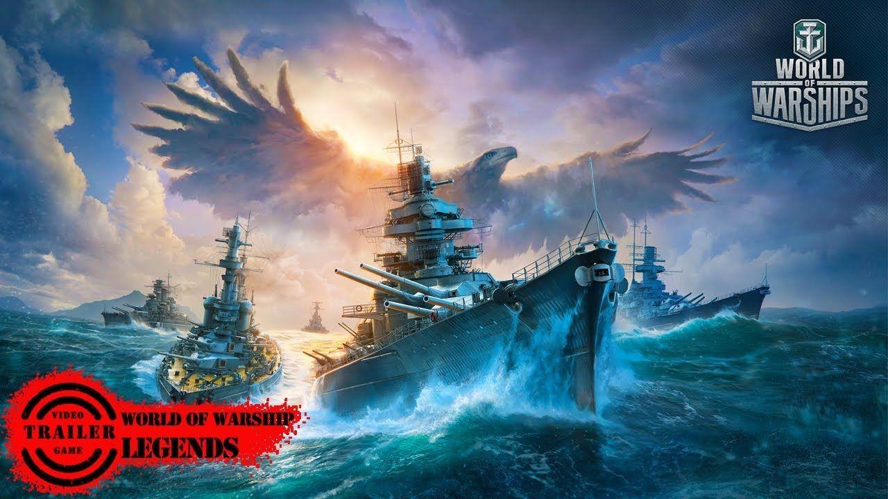 World Of Warships Legends Trailer World Of Warships Legends Trailer Video Games Trailer Best Video Ga World Of Warships Wallpaper Warship Angel Wallpaper