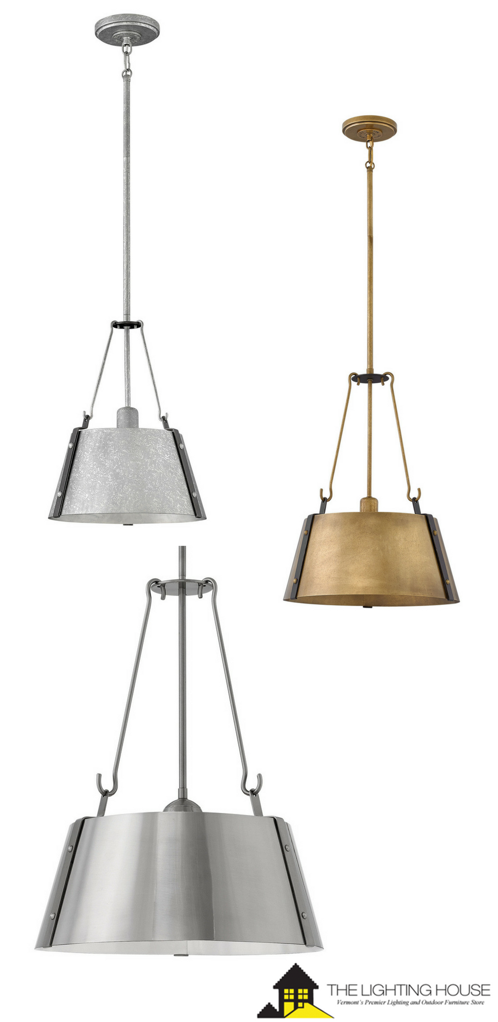 The cartwright pendant collection captures a modern farmhouse