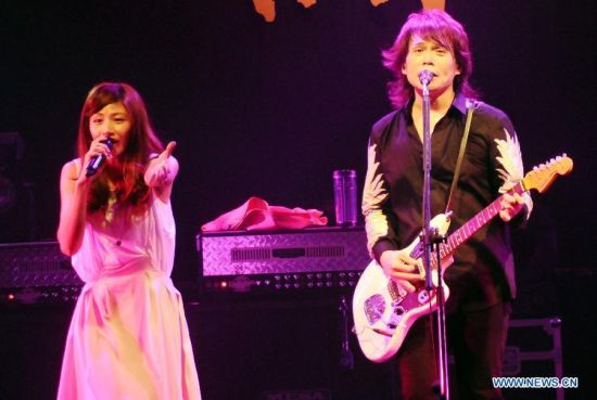 Wu Bai performs during his concert in Taipei, Taiwan, July 3, 2015  http://www.chinaentertainmentnews.com/2015/07/singer-wu-bai-holds-concert-in-taipei.html