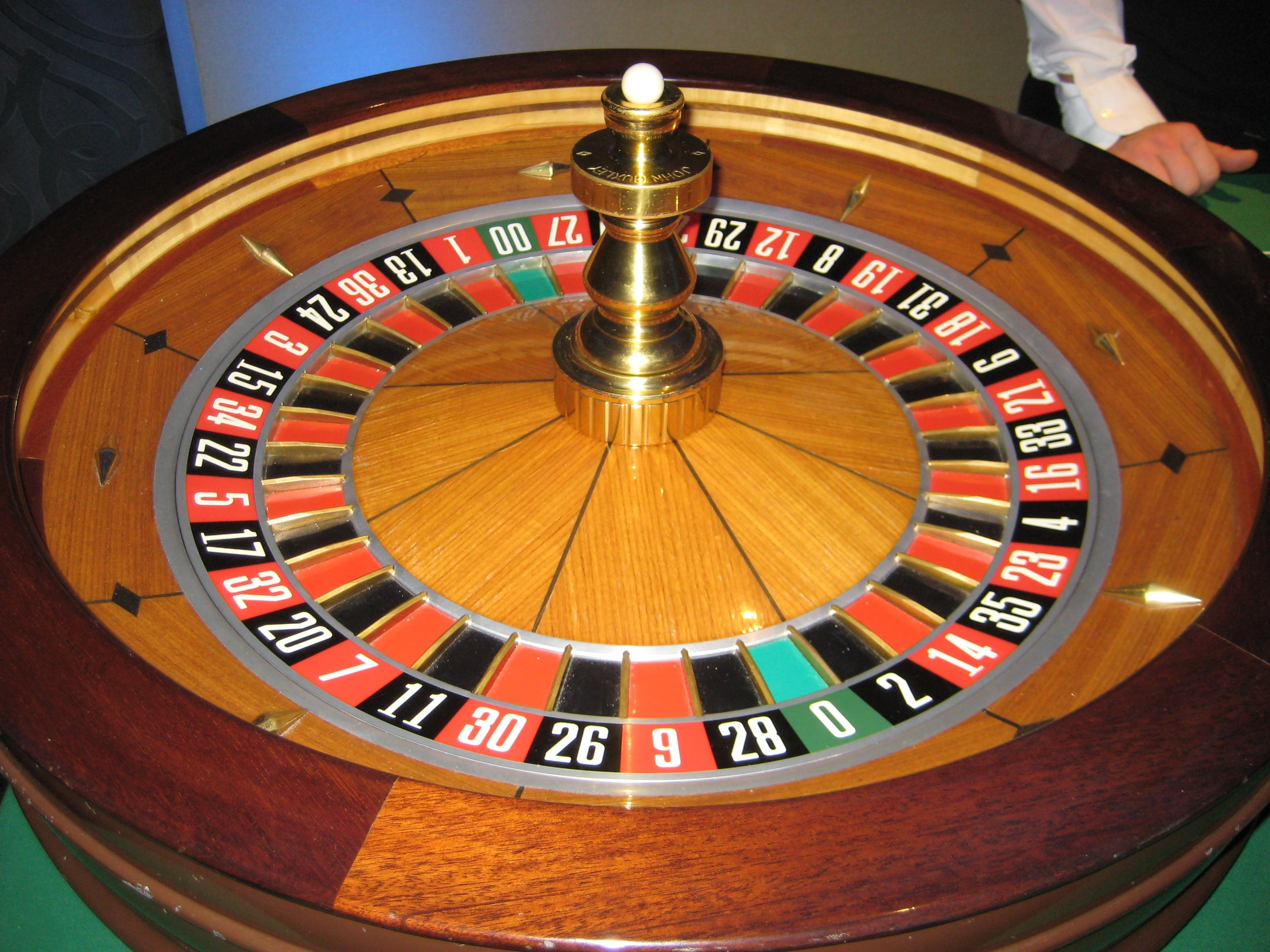 Wedding roulette table
