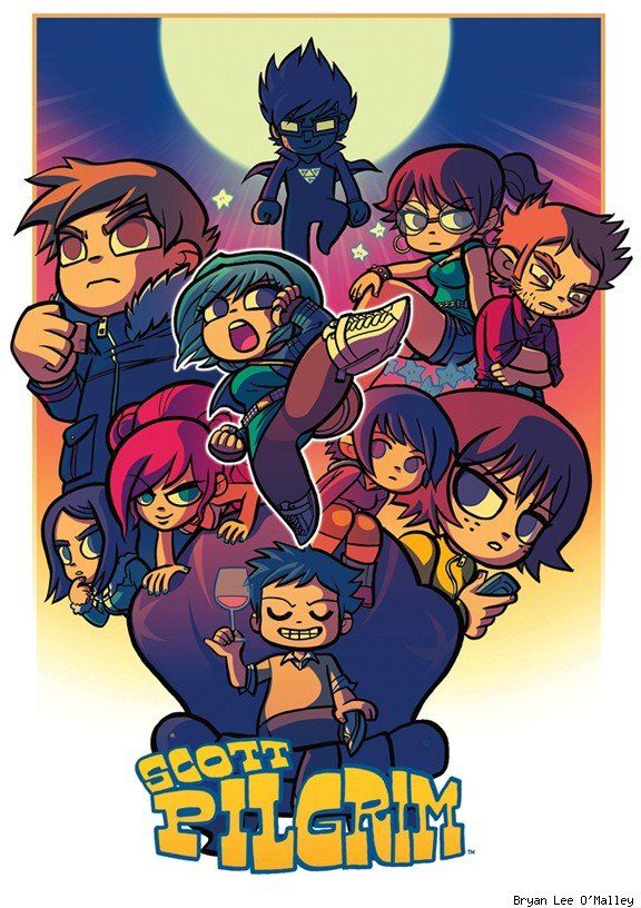 Scott Pilgrim Comic Book In 2019 Pinterest Scott Pilgrim