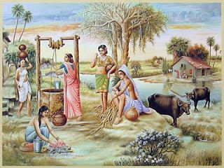 Indian Villages Life Paintings Pictures Cini Clips India